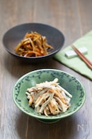 【作り置き】同じ材料で2品!定番きんぴらごぼう&ごぼうサラダ