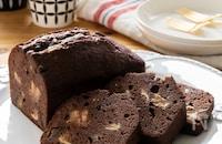 ふんわりしっとりお店の味♡チョコパウンドケーキ