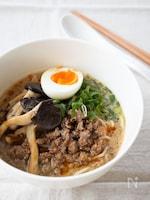 『我が家の担々麺』#ピリ辛#練りごま