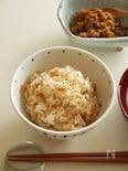 ピリリとさわやかな辛さ。生姜の佃煮で  『生姜ご飯』