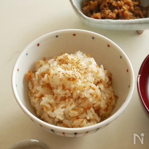 ピリリとさわやかな辛さ。 生姜の佃煮で  『生姜ご飯』