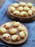 燻製バターのホロホロクッキー(ポルボロン)