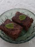 小麦ふすまで低糖質の簡単バナチョコケーキ