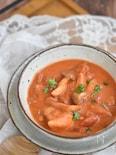 鶏もも肉ときのこのトマトクリームソース煮【冷凍・作り置き】