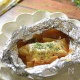 子供に人気「トマトチーズで洋風タラのホイル焼き」汁まで旨い!