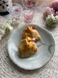 簡単おつまみ!とろ〜り卵とサクサク天かすの納豆キムチ巾着