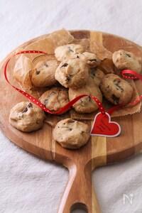 板チョコオイルクッキー。