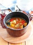 【STAUB】鶏と夏野菜のスープ