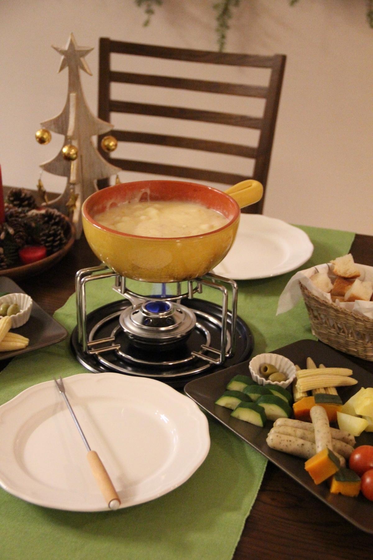 チーズ フォンデュ 分離