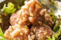 山芋のオイスター肉団子