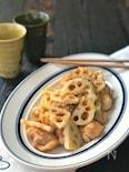 シャクシャク蓮根が美味しい!*鶏もも肉と蓮根の旨甘酢炒め*
