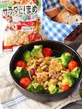 豆と根菜のおしゃれなアヒージョサラダ♡