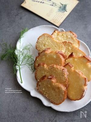 チーズバターラスク