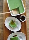 お豆腐の抹茶ババロア