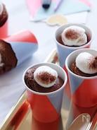 紙コップで作る!しっとりチョコ生シフォン