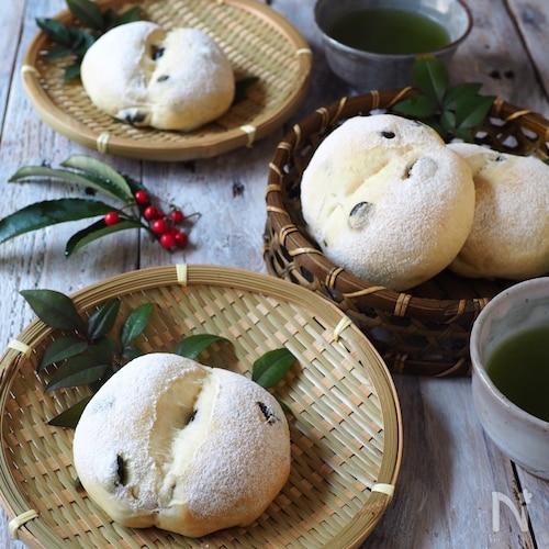 【黒豆リメイク】発酵なし!黒豆 白パン