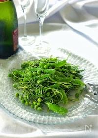 『おかひじきとグリーン野菜の春爛漫♡グリーンサラダ』