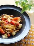 トマトがとろりん♪ささっと野菜の中華炒め
