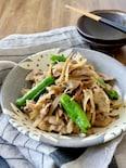 作り置き*豚ごぼうの味噌炒め