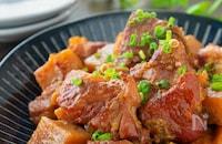 とろける美味しさ♡豚軟骨とこんにゃくの甘辛煮