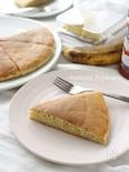 完熟バナナのホットケーキ