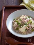 実山椒が香る和風麻婆豆腐