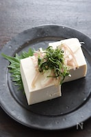 塩豆腐の香味野菜のせ 火を使わない簡単副菜・おつまみにも