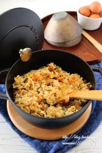 ビビンバ風・炊き込みご飯。