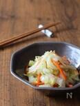 生姜が効いた白菜の浅漬け