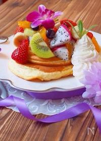 『ご褒美スフレパンケーキ』