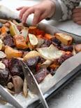 牛肉と根菜のぎゅうぎゅう焼き