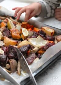 『牛肉と根菜のぎゅうぎゅう焼き』