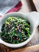 ほうれん草の海苔ナムル【#作り置き #お弁当 #やみつき】