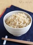 玄米の炊き方(圧力鍋、炊飯器)