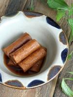 【食材1つ】めんつゆで簡単!やみつきごぼうのピリ辛漬け
