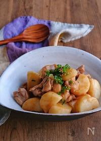 『長芋と鶏肉のこっくり炒め』