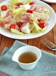 りんご酢のドレッシング