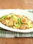 鶏とキャベツのコクうま炒め。