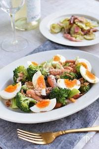 うま味のかけ算!ブロッコリーの簡単レンチンホットサラダ☆