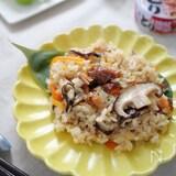 【簡単おてがる】焼き鳥の缶詰と切り餅でつくる中華風おこわ