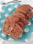 HMで簡単☆おやつにおすすめチョコパウンドケーキ