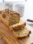 【簡単】小麦粉、バターなし。オートミールバナナブレッド