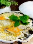 牡蠣の柳川風