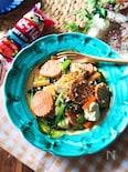 『ベビーハムを使って』小松菜の豆腐チャンプル