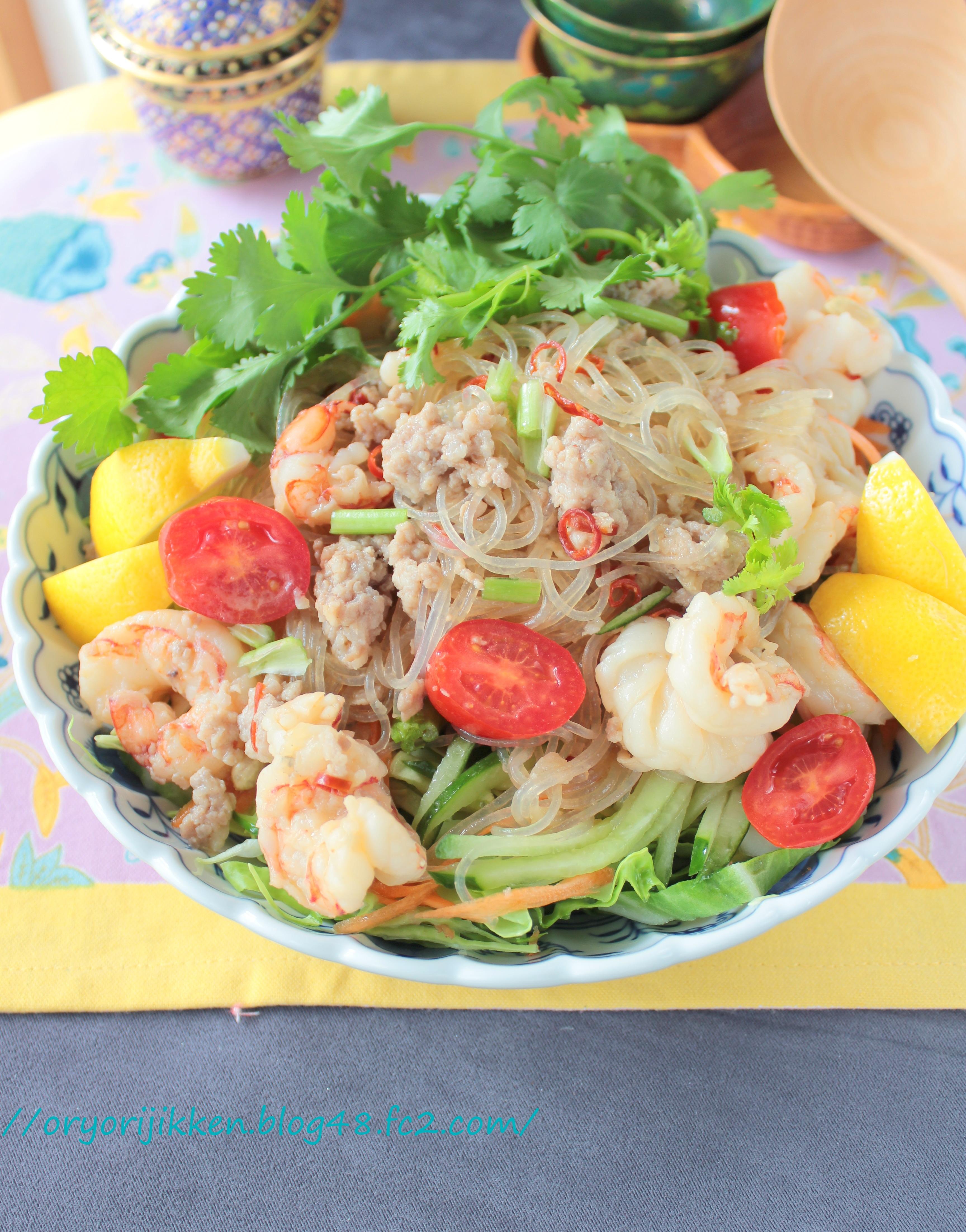 栄養たっぷり!タイ風サラダ「ソムタム」のレシピ10選の画像