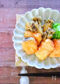 『サクサク美味しい♡鮭の竜田揚げの作り方レシピ』