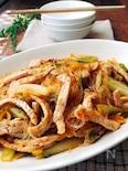 白菜と豚肉の春雨ピリ辛炒め煮