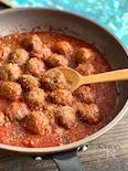 ミートボールのトマト煮込み