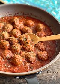 『ミートボールのトマト煮込み』