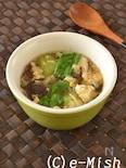 乾物おだしの中華たまごスープ